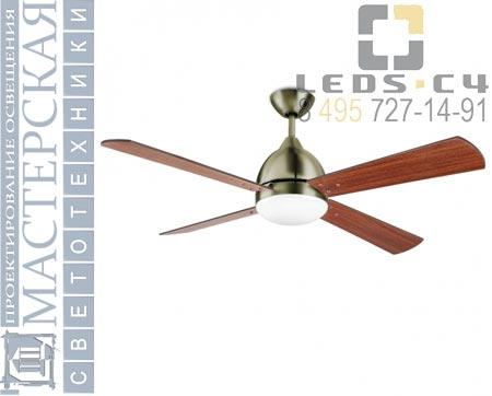 30-4399-E4-F9 Leds C4 вентилятор BORNEO Ceiling fans