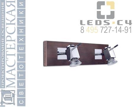411-CR Leds C4 настенный светильник WOOD La creu
