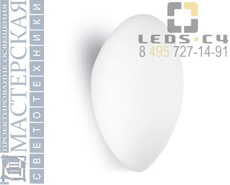 444-BL Leds C4 настенный светильник GLASS La creu