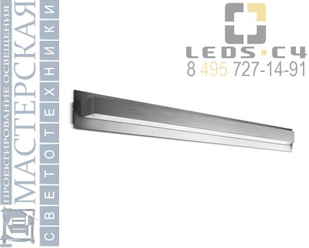 491-AL Leds C4 настенный светильник ALU La creu